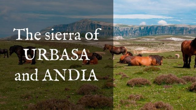 The sierra of URBASA – ANDIA